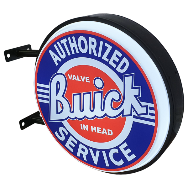 Buick Service 12v LED Retro Bar Mancave Light Sign