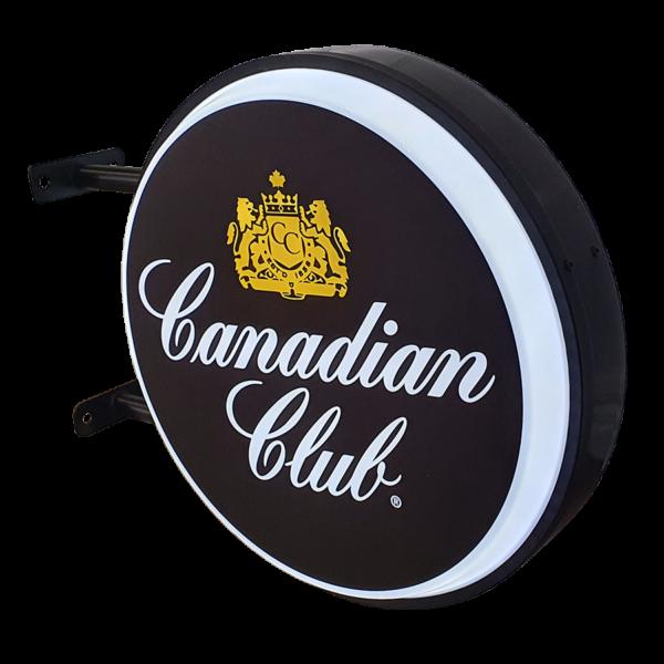 Canadian Club 12v LED Retro Bar Mancave Light Sign