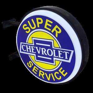 Chev Super Service LED Light