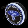 Ford V8 Service 12v LED Retro Bar Mancave Light Sign