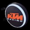 KTM Racing 12v LED Retro Bar Mancave Light Sign