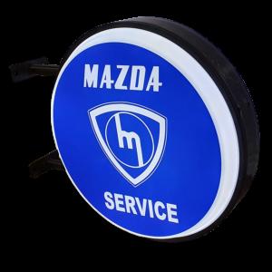 Mazda Service Solid LED Light