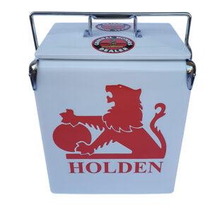 Holden Classics Retro Esky – WHITE – 17lt Retro Cooler