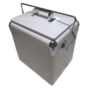 13lt Retro Esky Cooler – Retro Cooler Style – Plain White