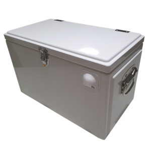 20lt Retro Esky Cooler – Chest Style – Plain White