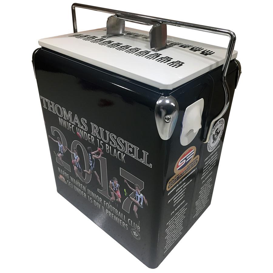 Thomas Russell Retro Esky - 17lt Retro Cooler - Corner 1