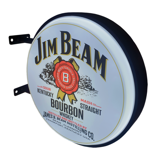 Jim Beam v2 12v LED Retro Bar Mancave Light