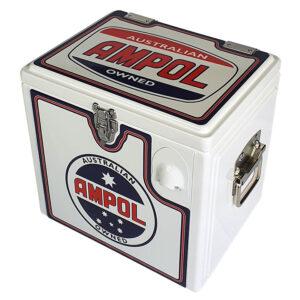15lt Retro Esky Cooler – Chest Style – Ampol
