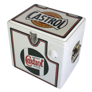 15lt Retro Esky Cooler – Chest Style – Castrol Wakefield