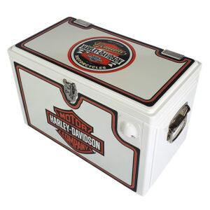 20lt Retro Esky Cooler – Chest Style – Harley Davidson