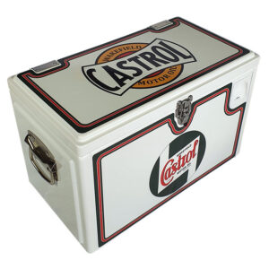20lt Retro Esky Cooler – Chest Style – Castrol Wakefield