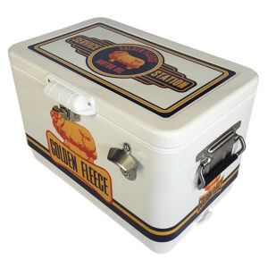 30lt Retro Esky Cooler – Chest Style – Golden Fleece