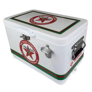 30lt Retro Esky Cooler – Chest Style – Texaco