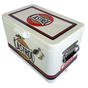 30lt Retro Esky Cooler – Chest Style – Castrol Wakefield