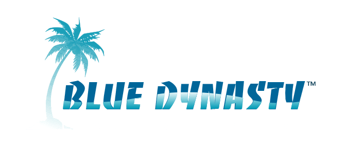 Blue Dynasty Entertainment and Travel Logo