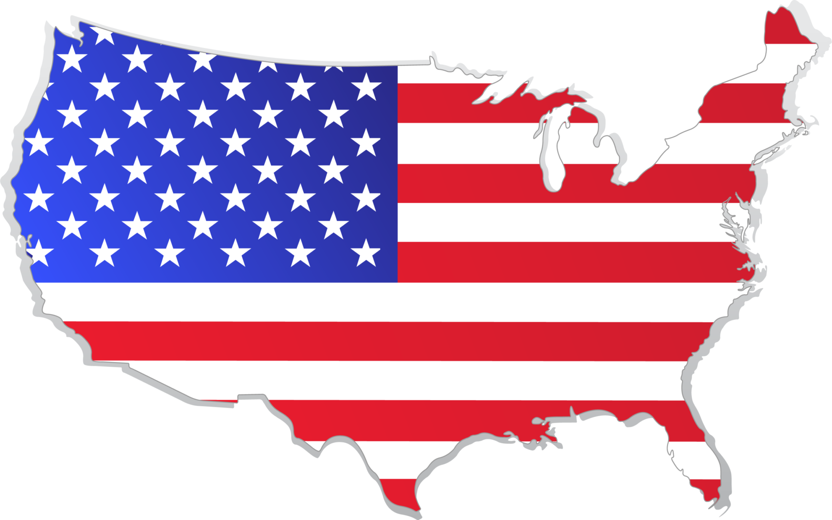 usa map with flag [Converted]