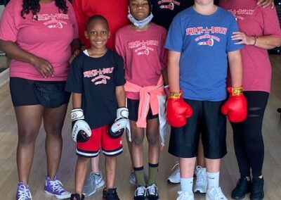 Group of Shock-A-Bully students posing for a picture