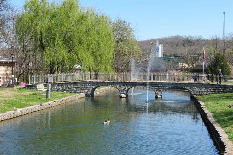Replica of the old Stone Bridge