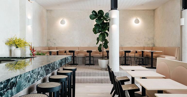 Disinfection lighting for Restaurants