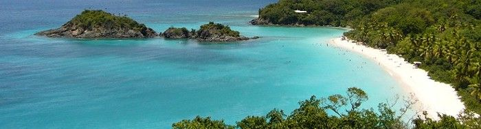 Trunk Bay St John by 340 Real Estate