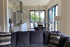 Villa Bonita living and kitchen