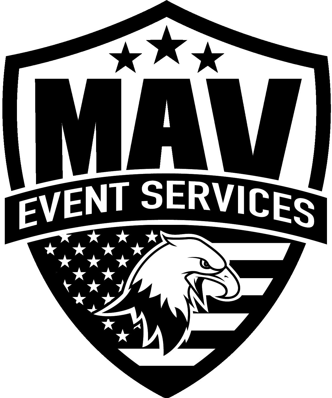 MAV Eagle logo BW