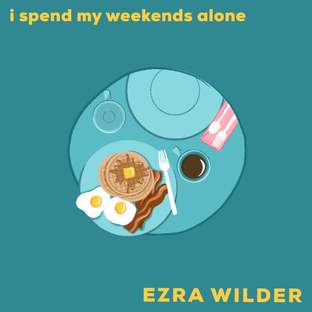 i spend my weekends alone official cover art