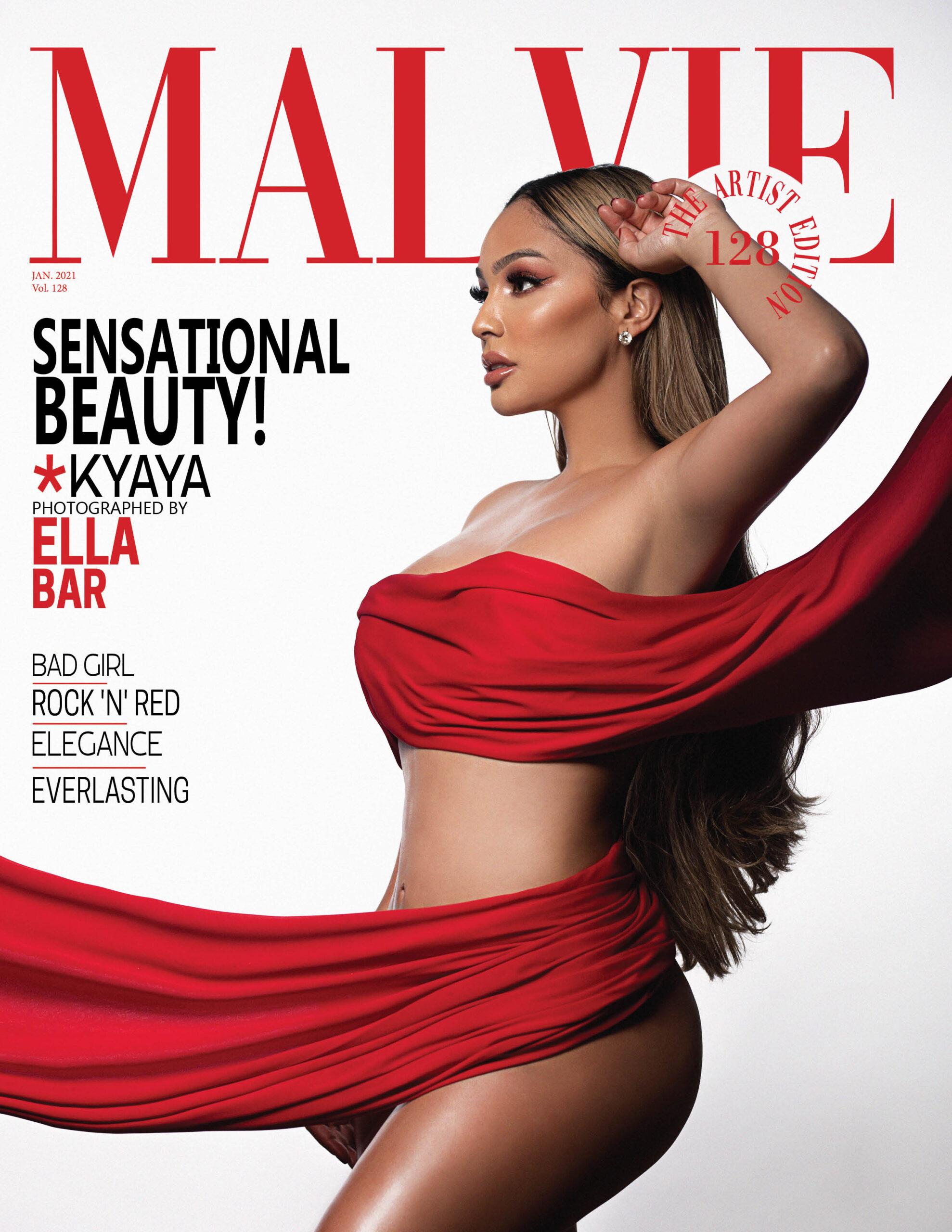 MALVIE Magazine The Artist Edition Vol 128 January 2021