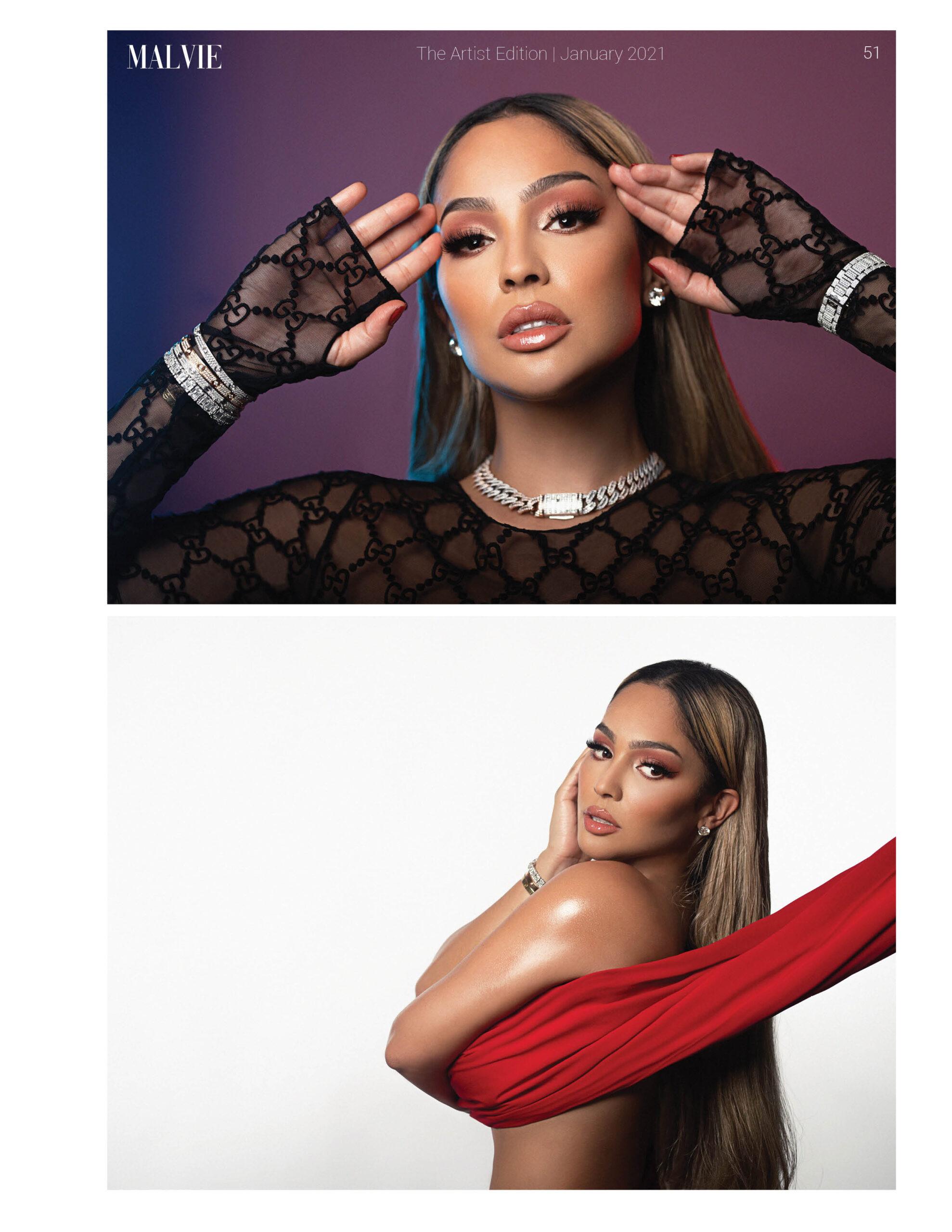 MALVIE Magazine The Artist Edition Vol 128 January 2021 51
