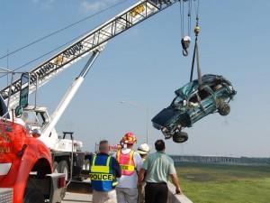 Accident Scene Photo