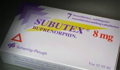 Subutex Medication
