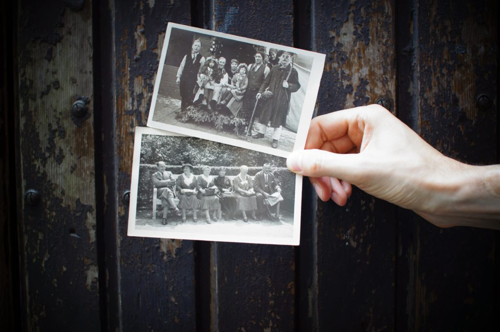 photo of black and white images