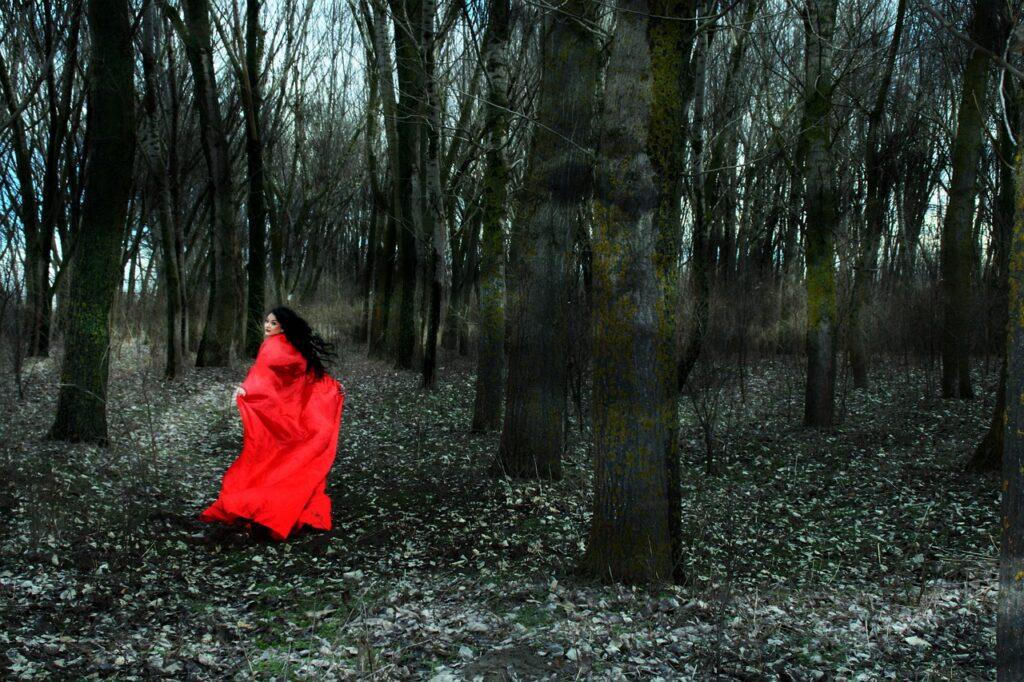 girl, fuga, red