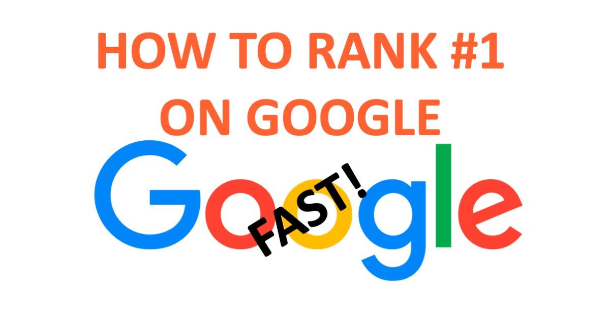 Google SEO ranking fast