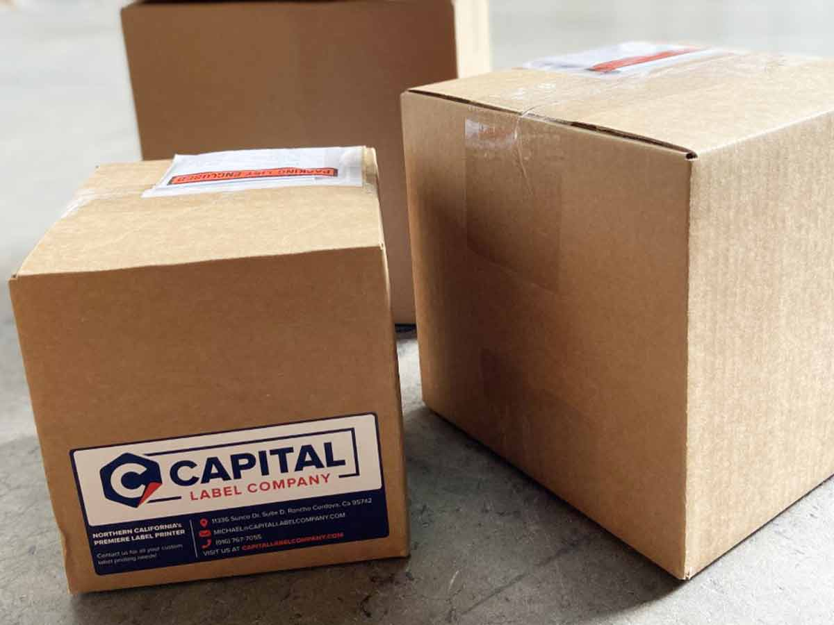 Box Labels, Case Labels, Labels for Cases and Boxes