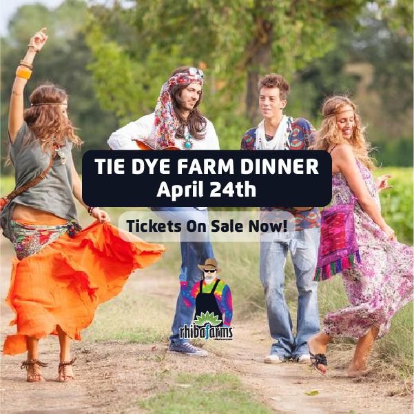 Tie Dye Dinner Party