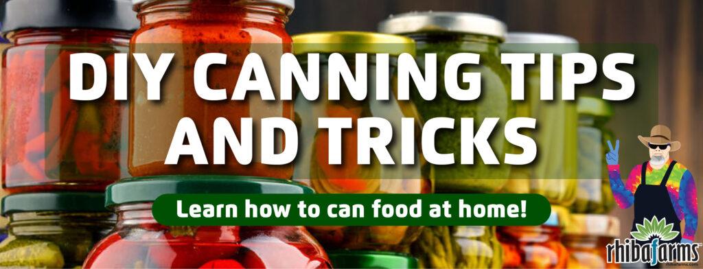 DIY Canning Classes