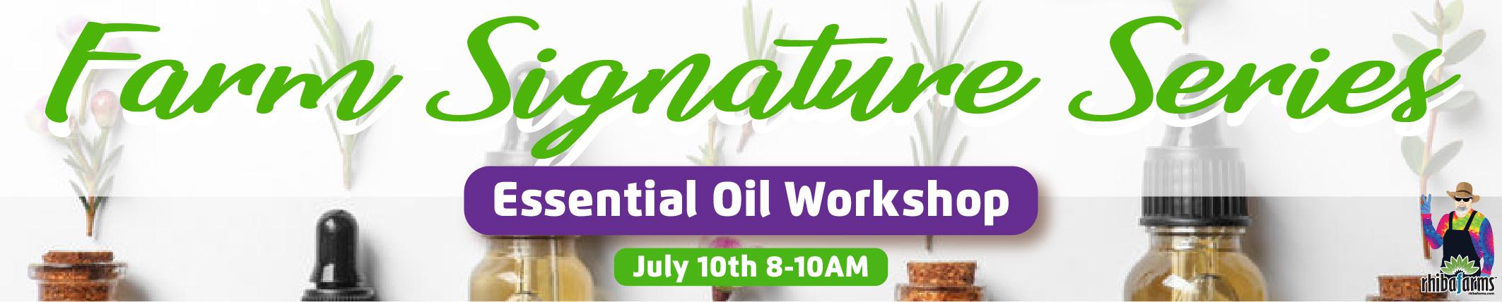 Essential Oil Workshop near me