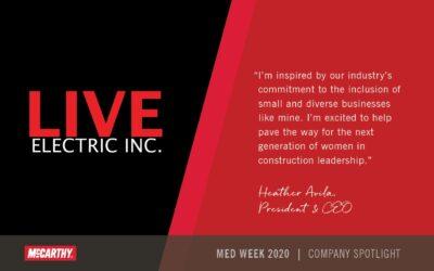 McCarthy– Minority Enterprise Week