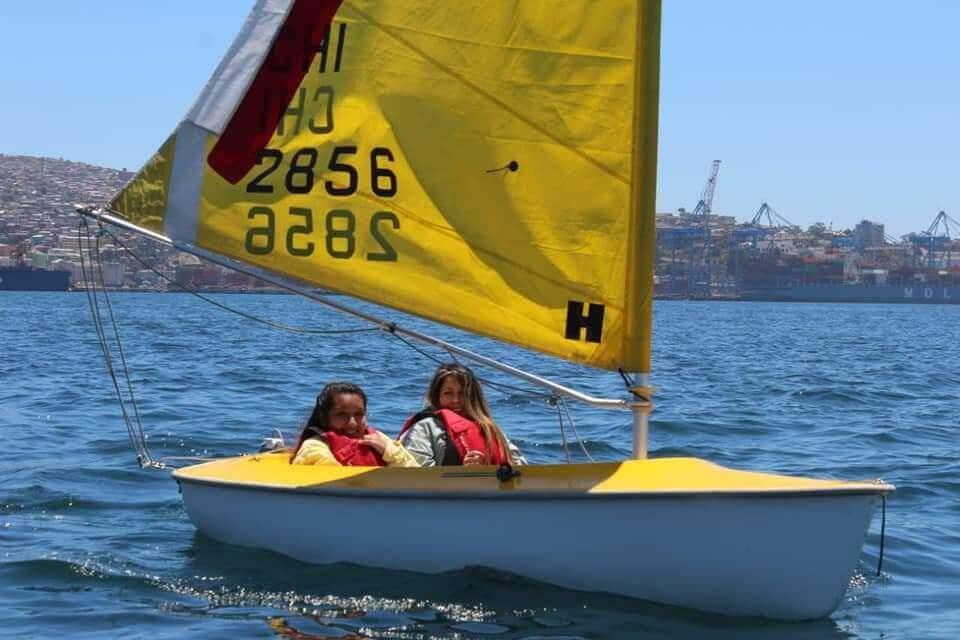 paseo en velero hansa valparaiso
