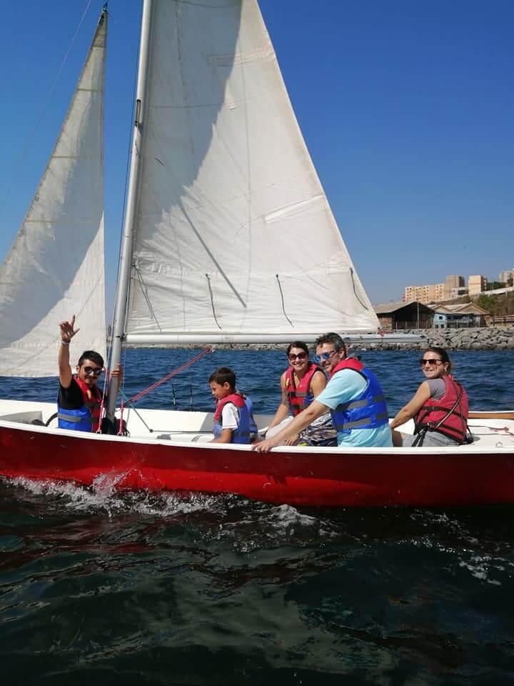 velero raquero puerto deportivo valparaiso
