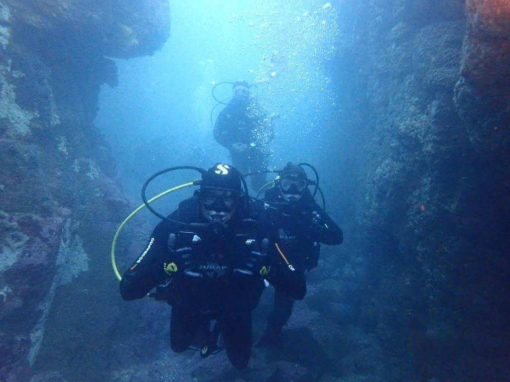 buceo en algarrobo cono sur diving