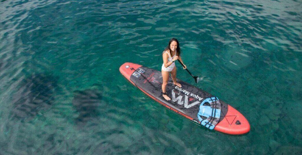 stand up paddle en la bahia de zapallar kayak zapallar bahari