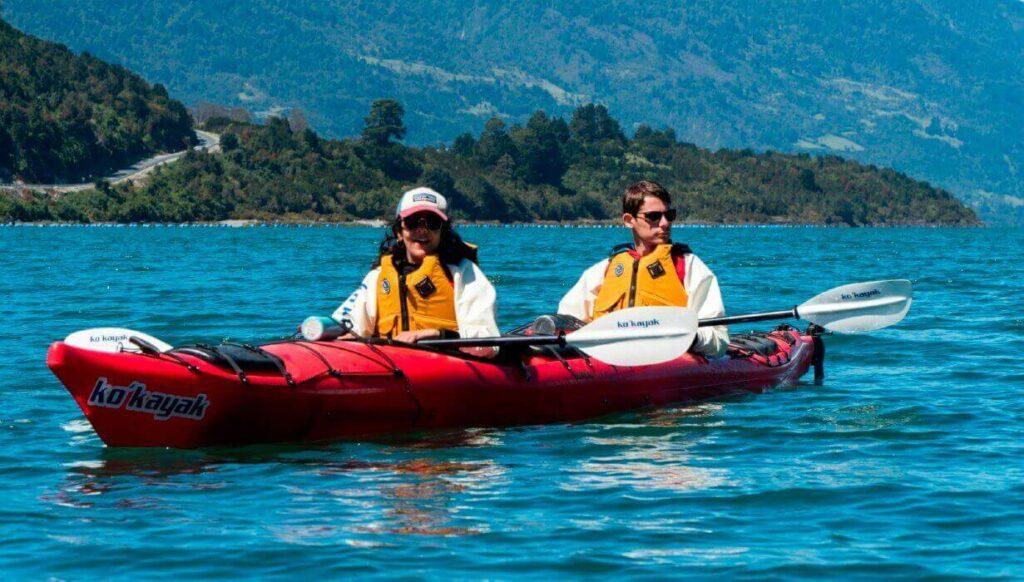 travesia en kayak kokayak petrohue fiestas patrias