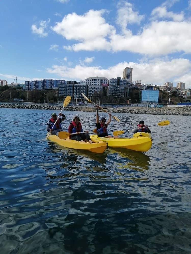 kayak arriendo valparaiso puerto deportivo