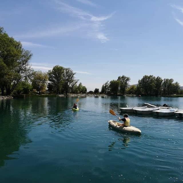 kayak en laguna piedra roja club nautico piedra roja