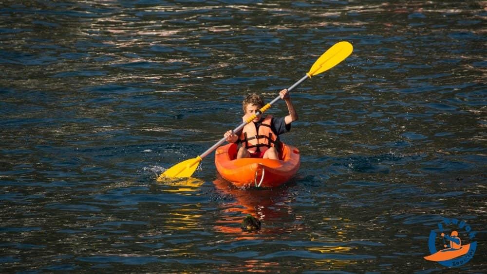 kayak single en bahia de zapallar kayak zapallar
