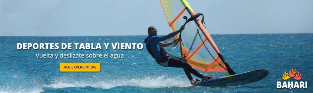 banner deportes de tabla y viento bahari