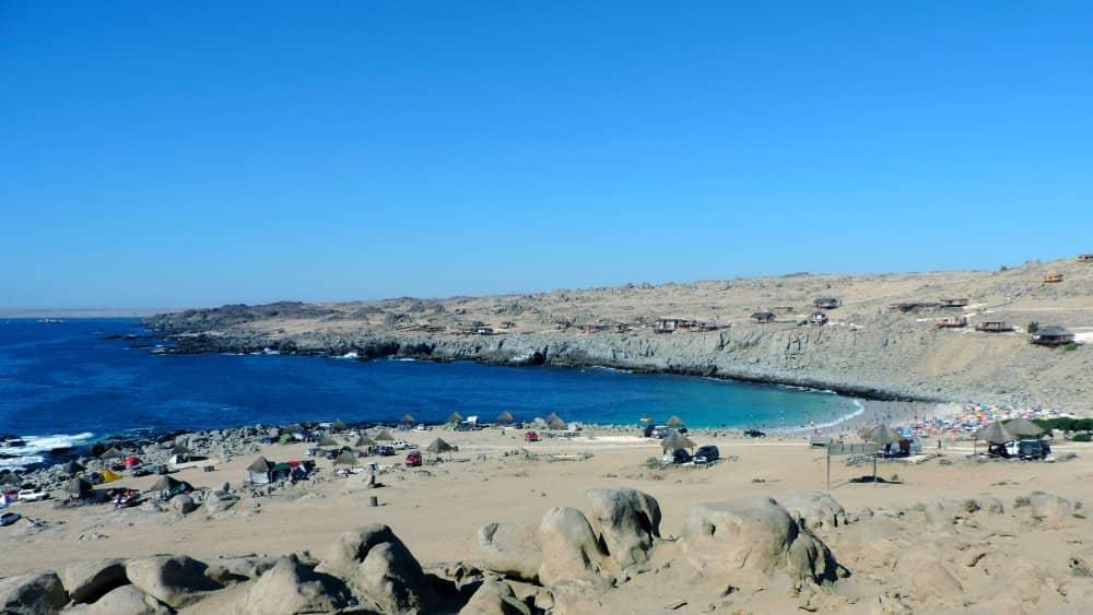 playa la virgen playas de chile