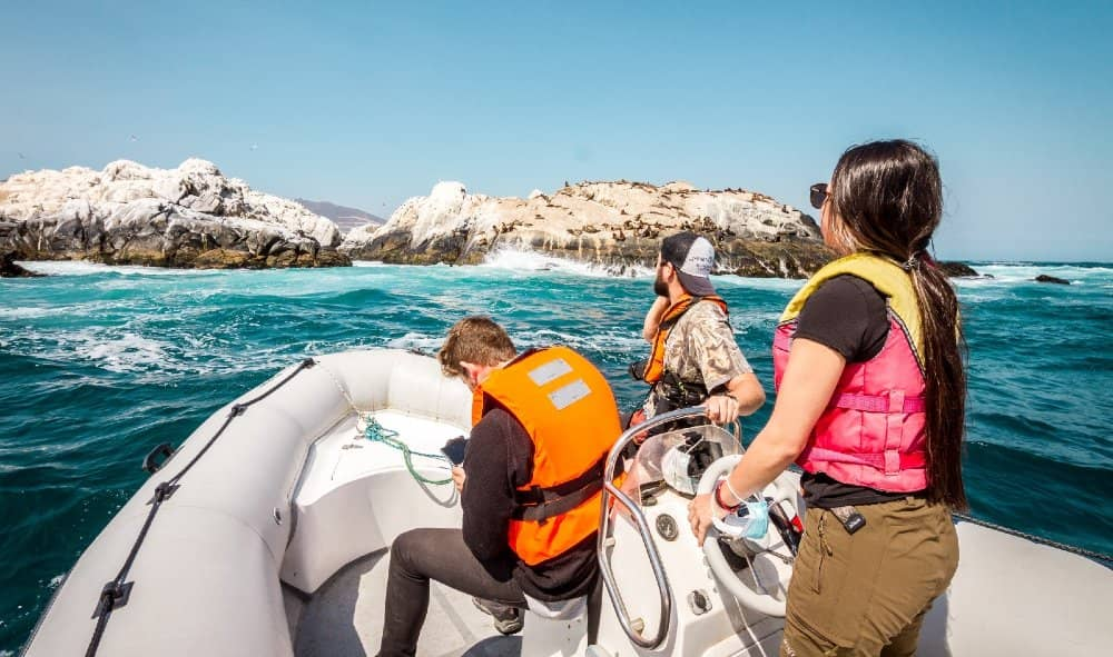 Excursion Nautica por el Borde Costero de Papudo intemperie turismo fiestas patrias